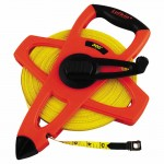 Apex FE300 Lufkin Hi-Viz Orange Reel Fiberglass Tapes