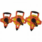 Apex FM030CM Lufkin Hi-Viz Orange Reel Fiberglass Tapes
