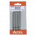 Apex 954-B-2X-V05 Square Recess Bits