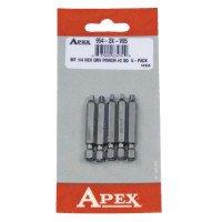 Apex 954-2X-V05 Square Recess Bits