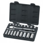 Apex 80557 Surface Drive Socket Sets With 84 Tooth Ratchet