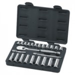 Apex 80559 Surface Drive Socket Sets With 84 Tooth Ratchet