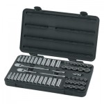 Apex 80568 Surface Drive Socket Sets With 84 Tooth Ratchet