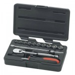Apex 80326 Surface Drive Socket Sets With 84 Tooth Ratchet