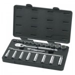 Apex 80707 Surface Drive Socket Sets With 84 Tooth Ratchet