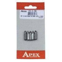 Apex 212-8-V05 Torq-Set Bits