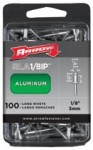 Arrow Fastener RMA1/8IP Aluminum Rivets