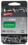Arrow Fastener RLFA3/16IP Large Flange Aluminum Rivets
