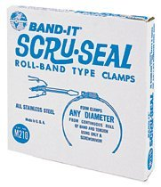 Band-It M21199 Band-it Scru-Seal Clamp Band Sets