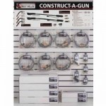 Best Welds CAG-DW3 Construct-A-Gun Display