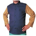 Best Welds 1201-M Leather/Sateen Combo Jackets