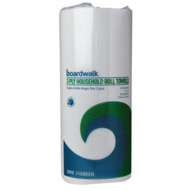 Boardwalk BWK6277 Green Household Roll Towels