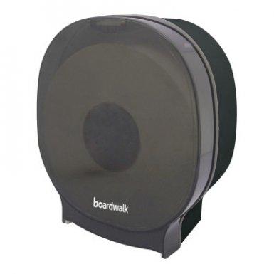 Boardwalk BWKJT109SBBW Single Jumbo Toilet Tissue Dispenser