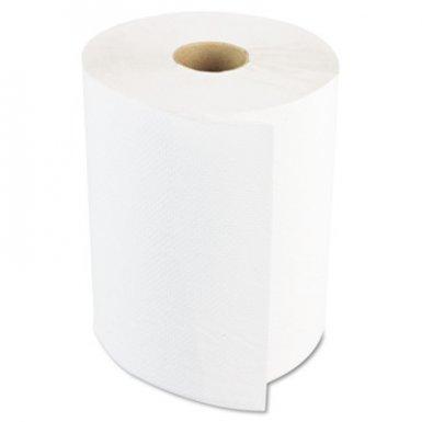 Boardwalk BWK6261 White Paper Towel Rolls
