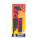 Bondhus 14187 Balldriver L-Wrench and Fold-Up Set Combinations