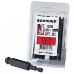 Bondhus 10836 Balldriver Power Bit Sets