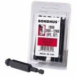 Bondhus 10899 Balldriver Power Bit Sets
