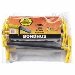 Bondhus 13146 Balldriver T-Handle Hex Key Sets