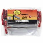 Bondhus 13148 Balldriver T-Handle Hex Key Sets