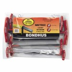 Bondhus 13187 Balldriver T-Handle Hex Key Sets