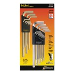 Bondhus 20399 GoldGuard & BriteGuard Balldriver L-Wrench Hex Key Sets