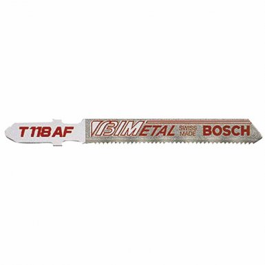 Bosch Power Tools T118AF Bi-Metal Jigsaw Blades