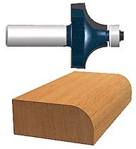 Bosch Power Tools 84405M Carbide-Tipped Ball Bearing Pilot Roundover Router Bits