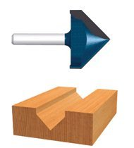 Bosch Power Tools 85219M Carbide-Tipped V-Grooving Router Bits