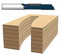 Bosch Power Tools 85278M Carbide-Tipped Plunge Cutting Staggertooth Straight Router Bits