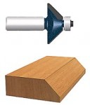 Bosch Power Tools 85298M Carbide-Tipped Ball Bearing Pilot Chamfering Router Bits