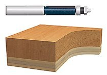 Bosch Power Tools 85601M Carbide-Tipped Ball Bearing Pilot Templet/Trimming Router Bits