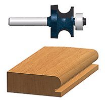 Bosch Power Tools 85631M Carbide-Tipped Ball Bearing Pilot Edge Beading Router Bits