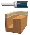 Bosch Power Tools 85680M Carbide-Tipped Top Bearing Mounted Straight Router Bits