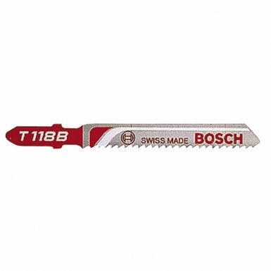 Bosch Power Tools T118B HSS Jigsaw Blades