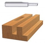 Bosch Power Tools 85093 HSS Plunge Cutting Straight Router Bits