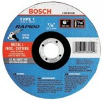 Bosch Power Tools TCW1S600 Thin Cutting/Rapido Type 1A (ISO 41) Wheels