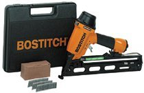 Bostitch N62FNK-2 Industrial Oil Free Angled Finish Nailer Kits