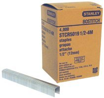 Bostitch STCR50191/2-4M PowerCrown Heavy Duty Staples