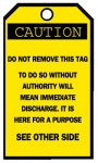 Brady 76168 Blank Accident Prevention Tags