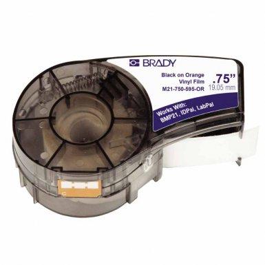 Brady M21-750-595-OR BMP21 Mobile Printer, ID PAL & LABPAL Label Printer Labels