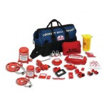 Brady 99691 Combination Lockout Duffel Kits with 2 Padlocks