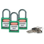 Brady 118955 Compact Safety Locks