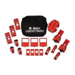 Brady 65405 Comprehensive Breaker Lockout Pouch Kits