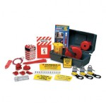 Brady LKP Economy Premium Lockout Kits with 3 Padlocks