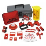 Brady 99312 Electrical Lockout Toolbox Kits with Safety Padlocks