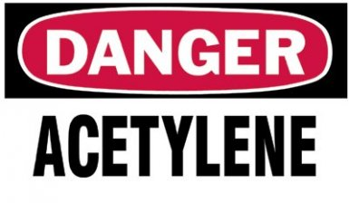 Brady 60311 Gas Cylinder Lockout Labels