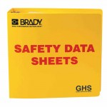 Brady GHS Safety Data Sheet Binders 262-121184