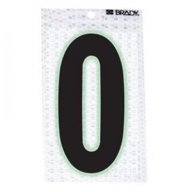 Brady 3010-0 Glow-In-The-Dark/Ultra Reflective Numbers