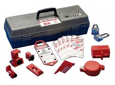Brady 65289 Lockout Tool Boxes with Components