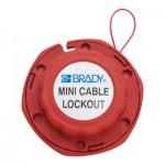 Brady 50940 Mini Cable Lockouts with Metal Cables
